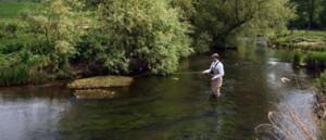 Fishing on the River Girvan